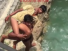 Amar stripped naked and latent into amply by friend