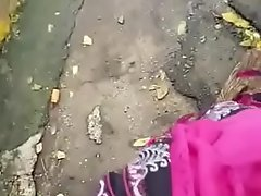 Spunk fountain on musilm aunty mouth 12