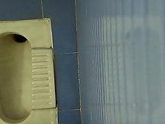 cousin sister water-closet pee voyeur hidden