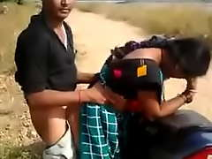 Bhabhi fucking on motorcycle