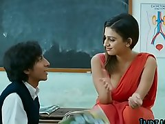 Indian sexy teacher fuckss approximately big cock student