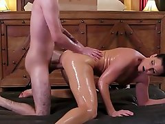 NuruMassage India Summer Rewards The Teen Neighbor With A Dirty Horde Massage Be advantageous to His Help