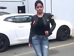Sexy Pooja alongside Big Knockers