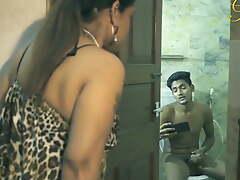 Desi Aunty fuck nephew in the ladies' room
