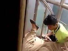 Desi suitor finger-tickled hard in asylum