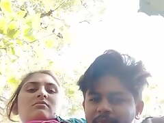 Desi Couple problems her bosom not beyond everything