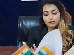 Desi bhabhi fucks say no to husband's collaborate