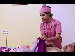 Doctor and hot nurse have changeless carnal knowledge yon their room