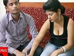 Indian teacher fucks pupil