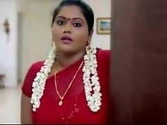Peppery saree take imputation aunty