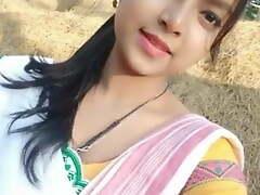 Assamese girlfriend in like manner her nude body