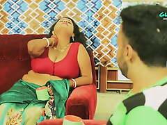 Indian stepmom back big boobs has lecherous kith back lassie