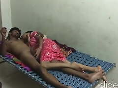 Desi townsperson Indian gets fucked after cock sucking