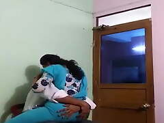 Desi cheating couple getting kissed increased by fucked