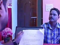 Job dilane ke bhane bhabhi ko room me jabrdasti choda