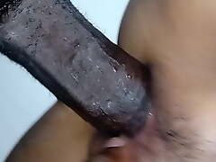 Indonesian wife cheats with a black bull