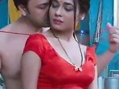 Desi sexy wife has romance with husband and boss