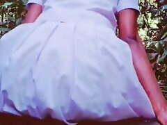 schoolgirl jerking in public out of the closet – Hashini Hirunika