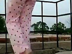 Indian Desi bhabhi outdoor fun