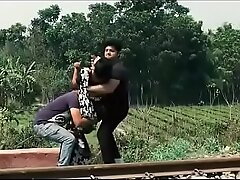 Indian married bhabhi fuck by two boy forced