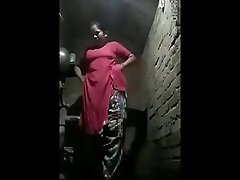 Indian North Aunty Fucks With Neighbour Admass When Hubby Broadly