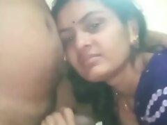 Indian Village Mature Lady Giving Good Blowjob