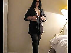 Curvy and Chubby Indian Amateur MILF Strips
