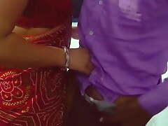 Bhabhi came to burnish apply wedding and drilled