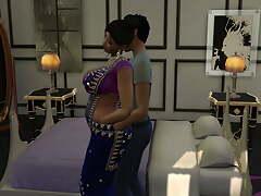 Indian stepmom webseries, dirty Hindi audio episode 1