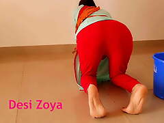 Anal invasion sex with Indian maid at home with unmistakable Hindi audio