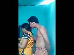 Kerala aunty thither young young man