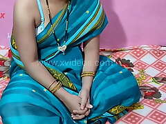 Indian Desi Village bhabhi sexy blowjob and pussy fucking puja beautiful caravanserai room
