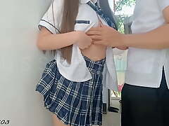 Viral Pinay Student Fucked By Her Intimate terms with at the School