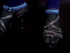 Anklet feet in sandals