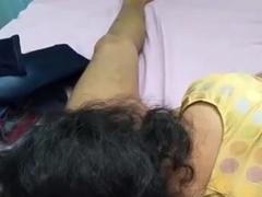 Tamil girl enjoying with her boss1