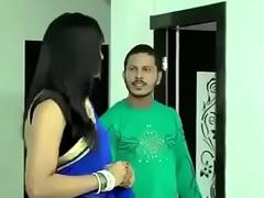 Beautiful Bhabhi near saree doing hot sex with other man