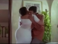 Hot Aunty  and Servente Romantic Vignettes    Tamil hot glamour scene