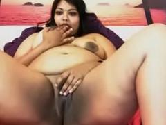 NRI cute Indian inclusive obese
