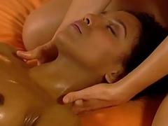 Massaging Her Girlfriend Gently
