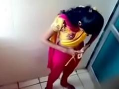 Hidden cam close by ladies bathroom girl pissing