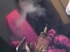 Smoking Newly Married Hot-Girl Taking Hookah!