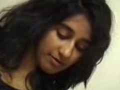 Indian girl'_s Suborn massage