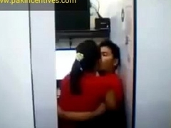Desi Girl Kissing With Boyfriend In Their way Home