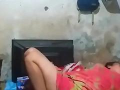 Bangladeshi Maid Aunty Taciturn Cam Spy Sleepy Video