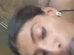 Make fun of Eye Marathi Girl Blowjob and Eating Cum
