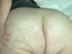 bbw from DesireBBWs.com oils her huge ass