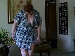 bbw milf striptease newcomer disabuse of DesireBBWs.com
