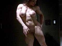 EroticMuscleVideos Uninteresting Showing And BrandiMae'_s HardBody