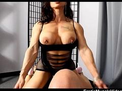 EroticMuscleVideos BrandiMae Physicality Handjob
