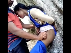 Desi Randi Girl Outdorr Lose one's heart to